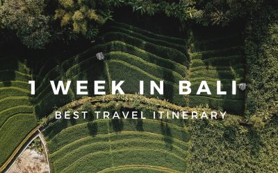 1 Week in Bali: The Best Travel Itinerary