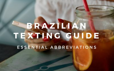 20+ Abbreviations to Text in Brazilian Portuguese