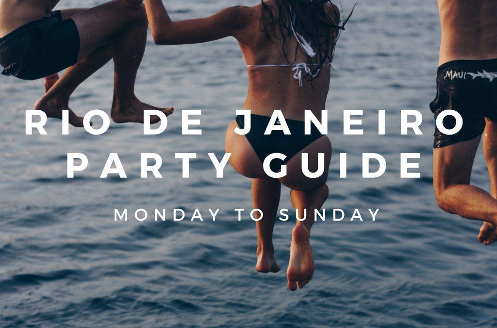 The Ultimate Party Guide to Rio de Janeiro